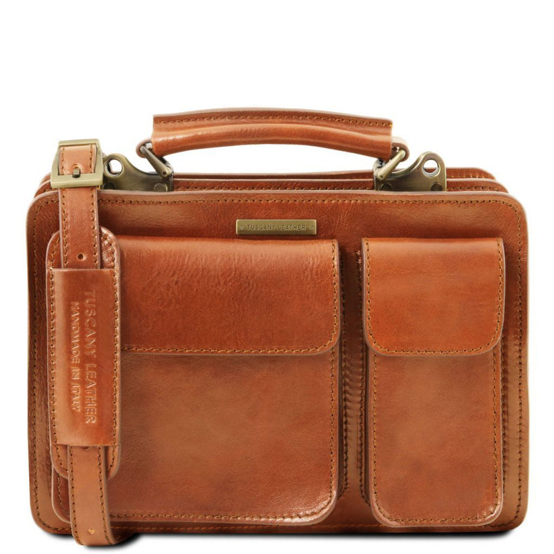 Tania - Leather lady handbag TL141270 Women Bags Tuscany Leather