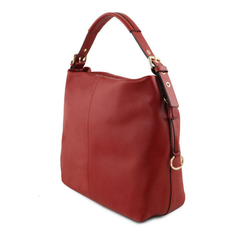 TL Bag - Soft leather hobo bag TL141719 Women Bags Tuscany Leather