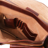 Modena - Leather briefcase 2 compartments - Large size TL100310 Business Tuscany Leather