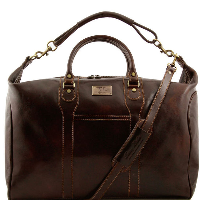 Amsterdam - Travel leather weekender bag TL1049 Tuscany Leather - getanybag.com