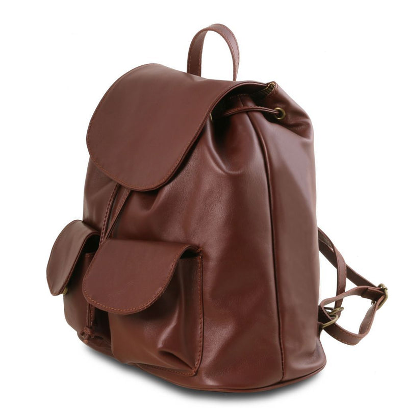 Seoul - Leather backpack Small size TL141508 Women Bags Tuscany Leather