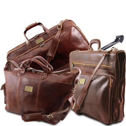 Luxurious - Travel set TL141078 Tuscany Leather - getanybag.com