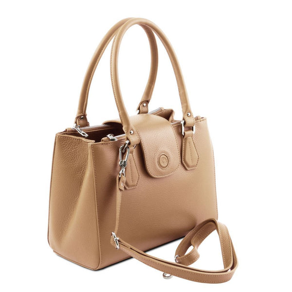 Fiordaliso - Leather handbag TL141811 Women Bags Tuscany Leather