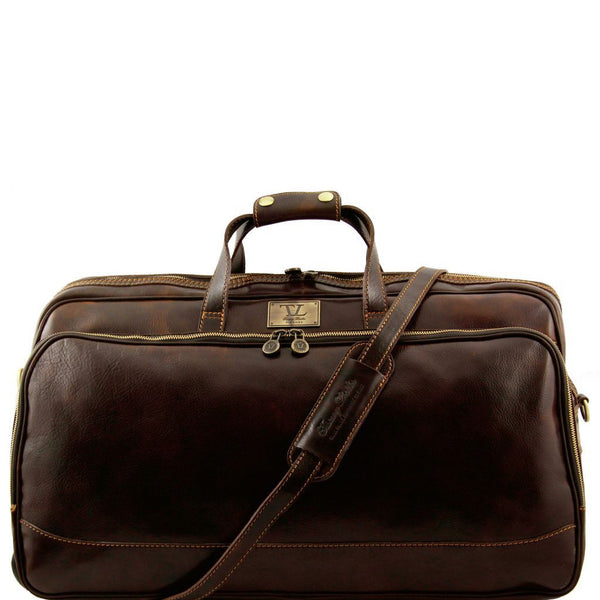 Bora Bora - Trolley leather bag - Large size TL3067 Luggage Tuscany Leather