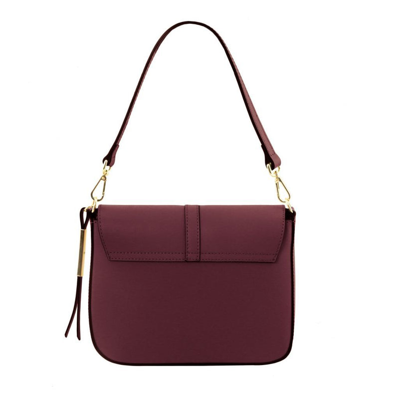 Nausica - Leather shoulder bag TL141598