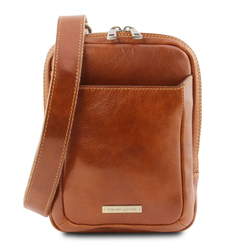 Mark - Leather Crossbody Bag TL141914 Men Bags Tuscany Leather
