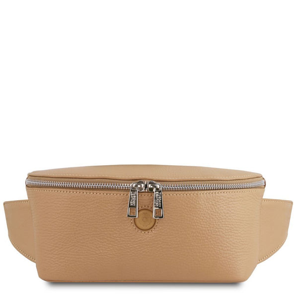 Erica - Soft leather fanny pack TL141877 Women Bags Tuscany Leather