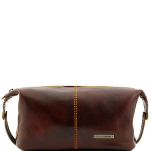 Roxy - Leather toilet bag TL140349 Luggage Tuscany Leather