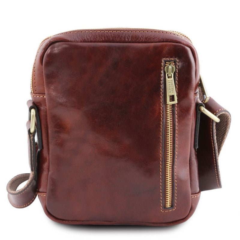 Larry - Leather Crossbody Bag TL141915 Men Bags Tuscany Leather