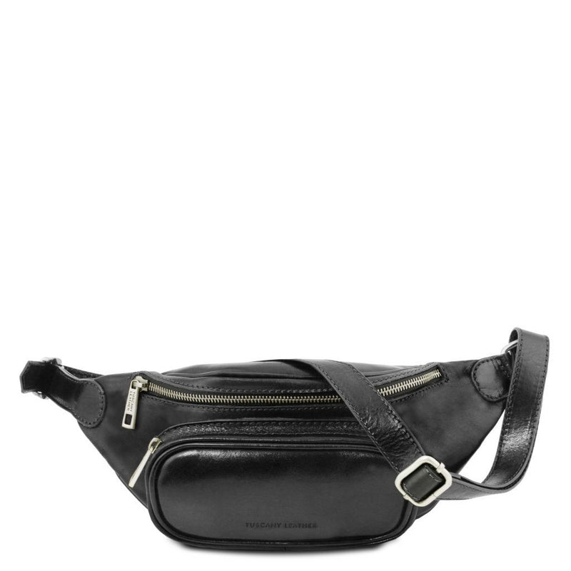 Leather fanny pack TL141797 Men Bags Tuscany Leather