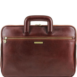 Caserta - Document Leather briefcase TL141324 Tuscany Leather - getanybag.com