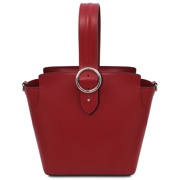 Gea - Leather handbag TL141909 Women Bags Tuscany Leather