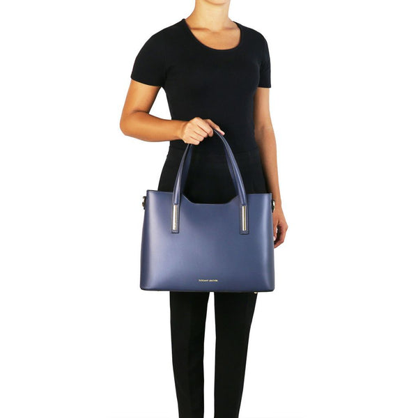 Olimpia - Leather tote TL141412 Women Bags Tuscany Leather