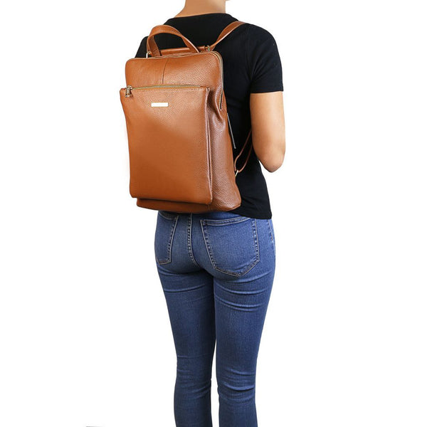 TL Bag - Soft leather backpack for women TL141682 - getanybag.com