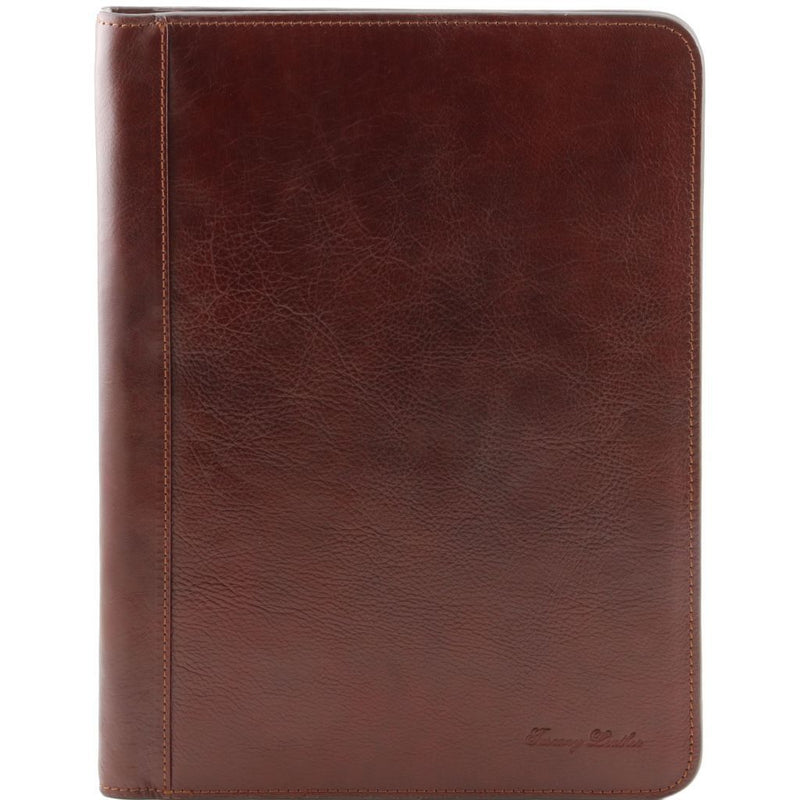 Lucio - Exclusive leather document case with ring binder TL141293 Business Tuscany Leather
