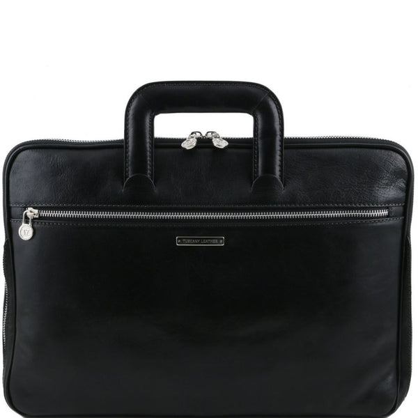 Caserta - Document Leather briefcase TL141324 Business Tuscany Leather