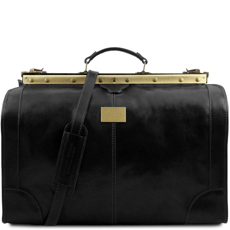 Madrid - Gladstone Leather Bag - Large size TL1022 Luggage Tuscany Leather