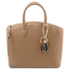 TL KeyLuck - Saffiano leather tote - Small size TL141265 - Getanybag