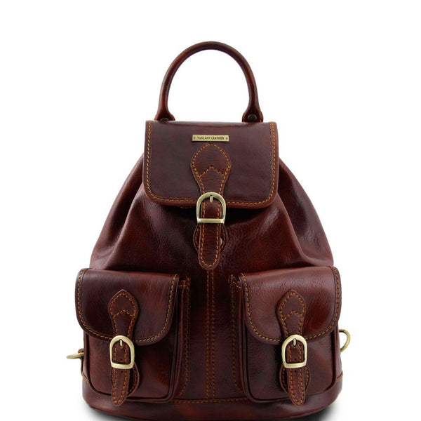 Tokyo - Leather Backpack TL9035 Tuscany Leather - getanybag.com