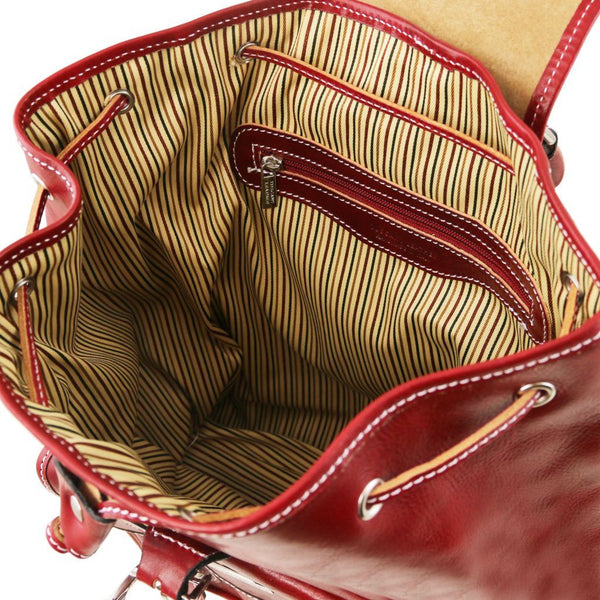 Singapore - Leather Backpack TL9039 Women Bags Tuscany Leather