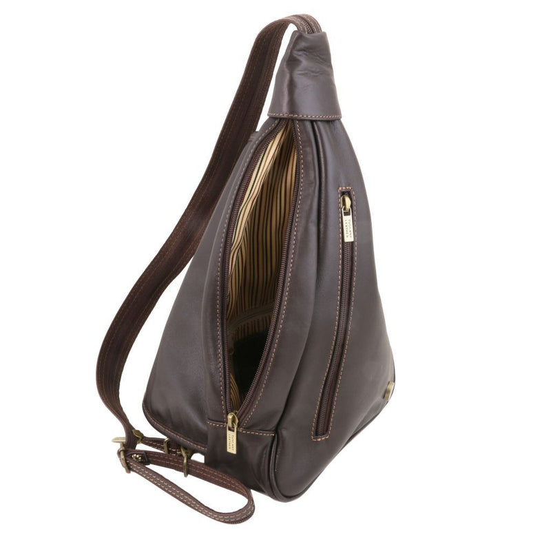 Hanoi - Leather backpack TL140966 Women Bags Tuscany Leather
