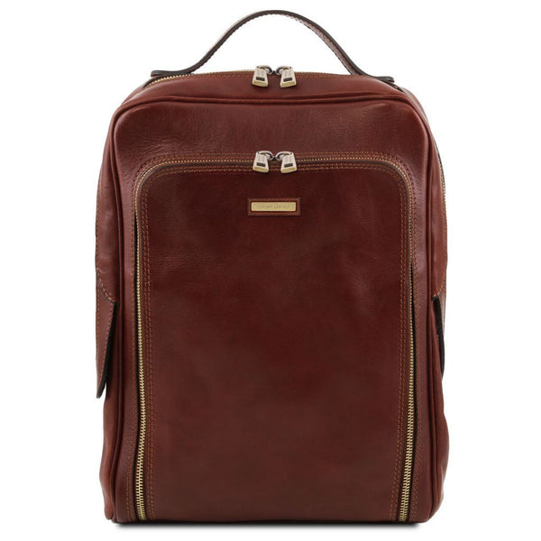 Bangkok - Leather laptop backpack TL141793 - getanybag.com