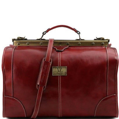 Madrid - Gladstone Leather Bag - Small size TL1023 Tuscany Leather - getanybag.com