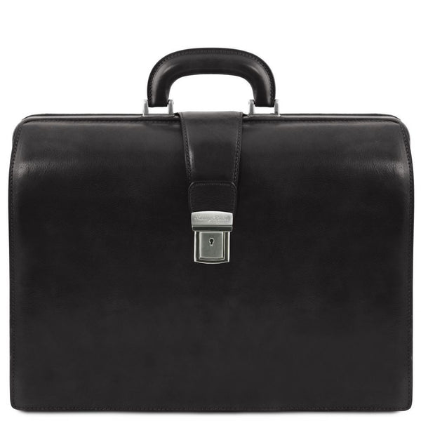 Canova - Leather Doctor bag briefcase 3 compartments TL141347 Business Tuscany Leather
