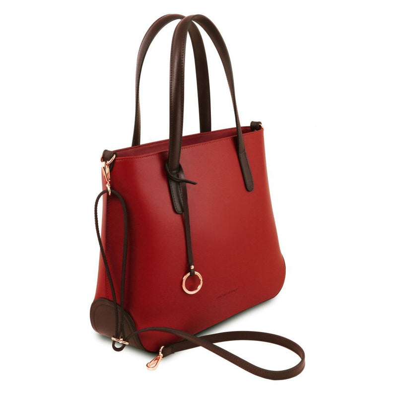 Penelope - Leather tote TL141791 Women Bags Tuscany Leather
