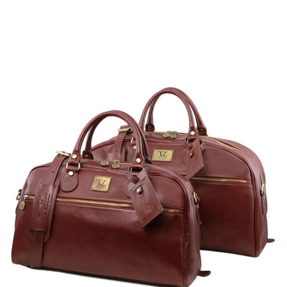 Magellan - Leather travel set TL141258 Tuscany Leather - getanybag.com