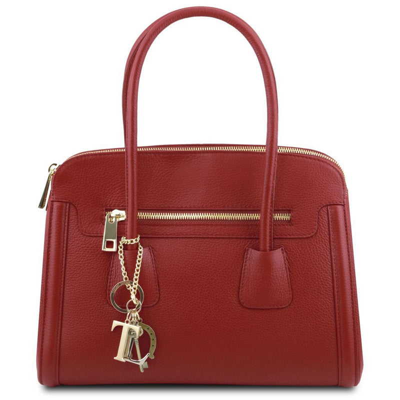 TL Keyluck - Soft leather handbag TL141285 Women Bags Tuscany Leather