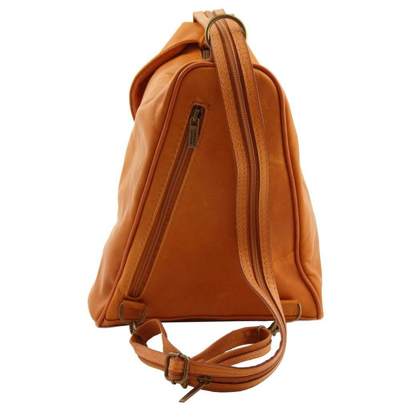 Delhi - Leather backpack TL140962 Women Bags Tuscany Leather