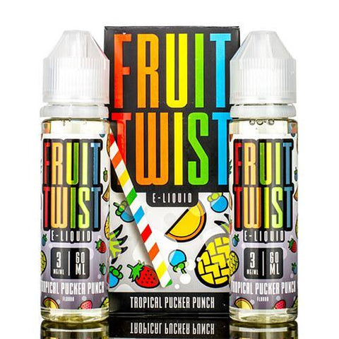 Fruit Twist E-Liquid - Tropical Pucker Punch
