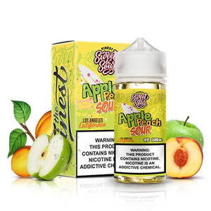 Sweet & Sour Eliquids - Apple Peach Sour Rings