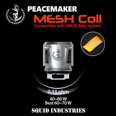 PeaceMaker Tank Mesh Coil