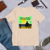 """Follow the Sun"" Short-Sleeve Unisex T-Shirt"