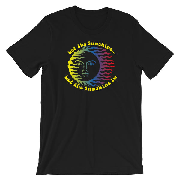 """Let the Sunshine In"" Short-Sleeve Unisex T-Shirt"