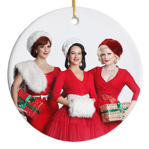 The Puppini Sisters Christmas Ornaments
