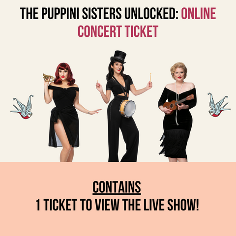 The Puppini Sisters Unlocked: Online Album Concert Ticket