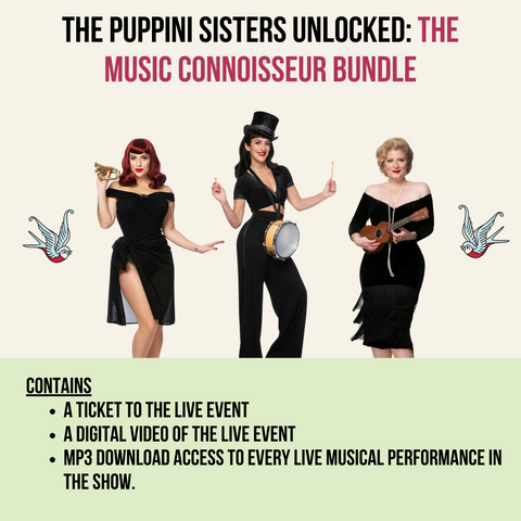 The Puppini Sisters Unlocked: The Music Connoisseur Bundle