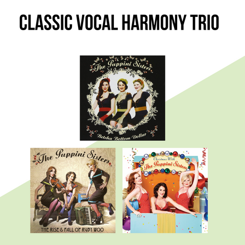 Classic Vocal Harmony Trio  - CD Bundle