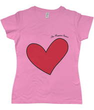 Load image into Gallery viewer, Puppini Love T-Shirt for Starry-Eyed Gals
