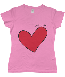 Puppini Love T-Shirt for Starry-Eyed Gals