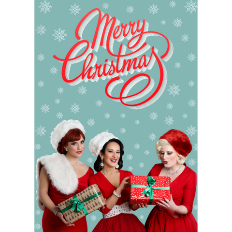 The Puppini Sisters Musical Christmas Card
