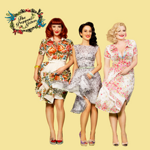 Load image into Gallery viewer, The Puppini Sisters Pin-Up Fridge Magnets (Pack of Four)