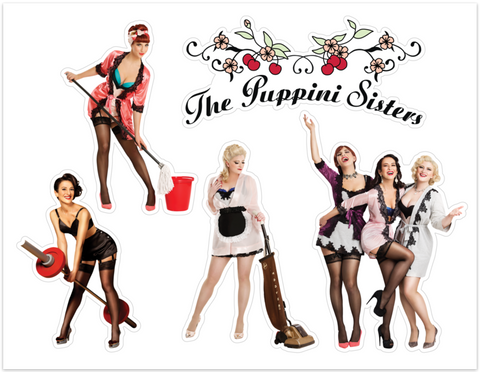 The Puppini Superfan Stickers