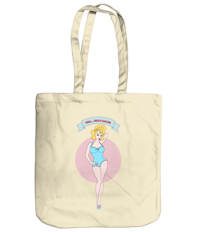 "Kate ""Well....Hello Sailor!"" Tote"