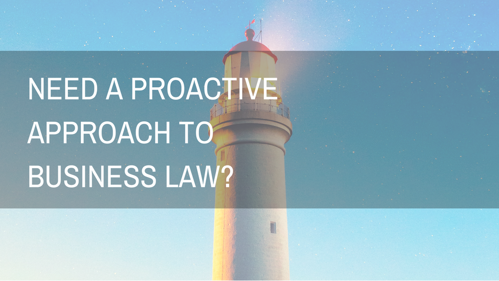 a proactive approach to business