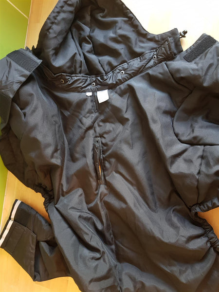 Buster Aqua Rain Coat Large Black