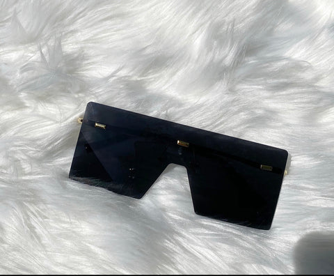 """Miami Vice"" Sunglasses - Black - Officially Conceited"